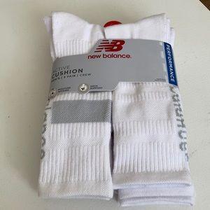 New Balance Active Cushion Crew Socks 5 pk